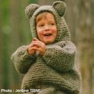 Deux ensembles oursons au tricot