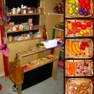 Petit magasin en bois