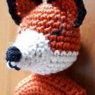 Hochet renard au crochet