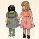 Petites robes à tisser et à tricoter