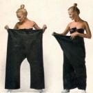 Pantalon exotique